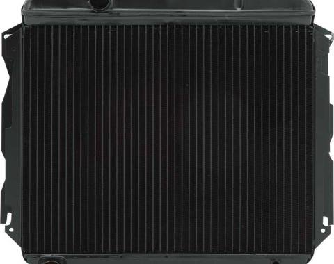 "OER 1966-69 Mopar B-Body BB (Exc Hemi) w/MT Replacement Radiator 4 Row 22"" Wide w/ High Efficiency Core SPECIAL1428"