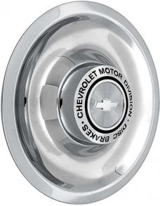 OER Stainless Steel Disc Brake Rally Wheel Cap WK1014S