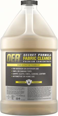 OER Secret Formula 1 Gallon Upholstery Fabric Top and Carpet Cleaner Industrial Strength K89465