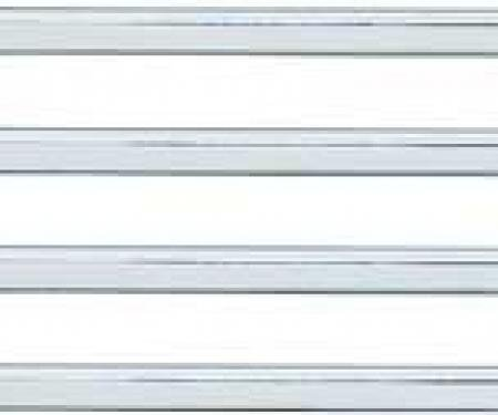 OER 1969 Dodge Charger, Horizontal Grill Molding Set, 4 Piece Set MB184617