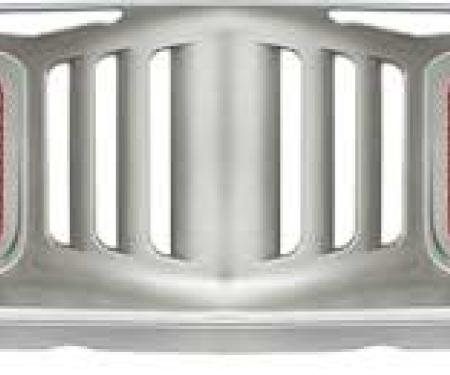 OER 1972-74 Plymouth Barracuda, Cuda, Front Grill Assembly ME175957